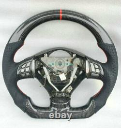 Carbon Fiber Car Steering Wheel For Subaru Impreza Legacy Forester WRX STI