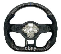 Carbon Fiber Custom Sport Steering Wheel for VW Golf MK7 GTI Golf Golf GTI R15+