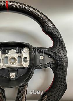 Carbon Fiber Custom Steering Wheel for Dodge Charger Challenger Scat SRT GT2015+