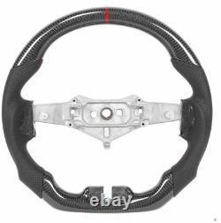 Carbon Fiber Flat Sport Customized Steering Wheel for Jeep Wrangler JK 2015-2017