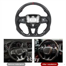 Carbon Fiber Sport Customized Steering Wheel for Dodge SRT Charger Challenger