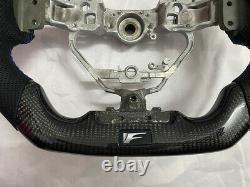 Carbon Fiber Sport Flat Bottom Customized Steering Wheel for Lexus IS ES 250 RCF