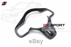 Carbon Fiber Steering Wheel Center Trim Cover for Mitsubishi Evolution X EVO 10
