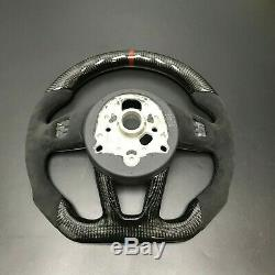 Carbon Fiber Steering Wheel For AUDI A3 A4 A5 S3 S4 S5 B9 2017-2019