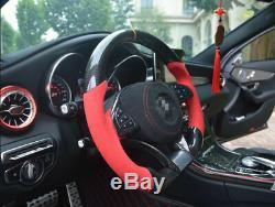 Carbon Fiber Steering Wheel For Benz W176 C117 W205 W213 X156 X253 W166 W222