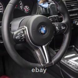 Carbon Fiber Steering Wheel Trim for BMW F87 M3 F80 M4 F82 M6 F06 F12 F13 X5MX6M