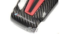 Carbon Fiber Steering Wheel Trim for BMW M2 F87 M3 F80 M4 F82 M6 F06 F12 F13 Red
