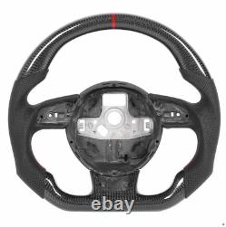Carbon Fiber Steering Wheel for Audi S3 S4 S5 RS3 RS4 RS5 RS6 RS7 RS 2012-2017