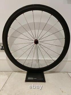 Carbon Fibre Road Bike Wheels Set Lightweight 50mm Clincher + Bags