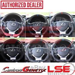 Carbon Genetix Carbon Fiber Steering Wheel 14-19 Lexus IS RC 200 250 350 F-Sport