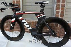 Cervelo P5 Six 51cm Dura ace 11 Speed Carbon Aero Triathlon Bike(NO WHEELS)