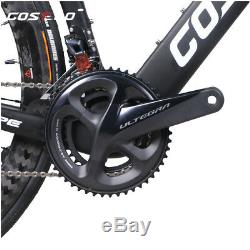 Costelo Speedcoupe road bicycle carbon complete bike wheels shimano R8000 group