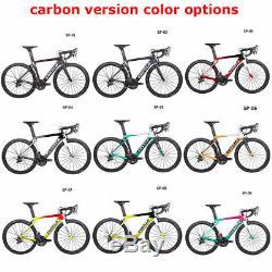 Costelo full carbon complete Road bike frameset wheels bicycle shimano groupset
