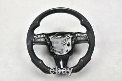 Customized 100% Real Carbon Fiber Car Steering Wheel For Cadillac CTS-V