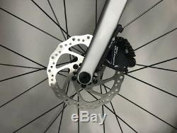 Disc Thru Axle Carbon Road Bike Complete Bicycle frame wheel Ultegra R8020
