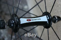 Easton EC90SL Carbon Road Bike Wheel Set 700c 10s Clincher Aero Cyclocross