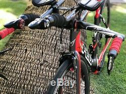 Felt DA / Sram Red / 54cm / TTR Aero Wheel set / Zipp Shifters / TT / Triathlon