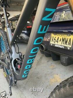 Forbiden Druid Mountain Bike Large, Fox Factory 36, industry Nine Wheels, SRAM CRK