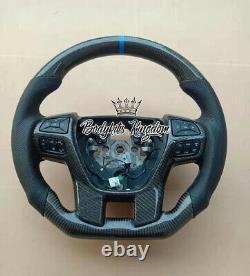 Ford Ranger px 2 px 3 carbon fiber steering wheel paddle shifter body kit raptor
