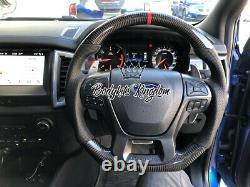Ford Ranger raptor px 2 px 3 carbon fiber steering wheel paddle shifter body kit
