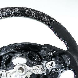Forged Carbon Suede Steering Wheel For BMW F30 F31 F34 F20 F21 F22 F23 F32 F33
