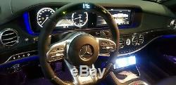 Genuine 2019 AMG model LED Carbon Steering Wheels for All Mercedes models 2014+