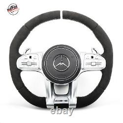 Genuine 2019 AMG style Alcantara Steering Wheel for All Mercedes models 2014+
