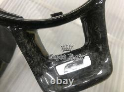 Golf mk7 mk7.5 Carbon fiber steering wheel flat bottom custom r r20 gti spoiler