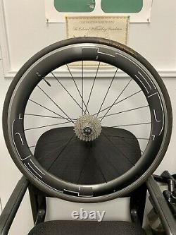 HED Jet 6 Rim Brake 700 Carbon Bike Clincher Wheel Set No Cassette