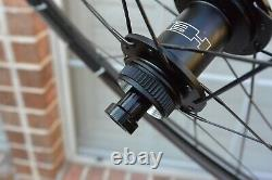 HED Vanquish 6 Wheel Set Clincher/Tubeless 700c Center Lock Disc Brake 10/11s