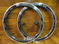 Hed Belgium Jet C2 700c Clincher Shimano/sram 8 9 10 11 Speed Carbon Wheel Set