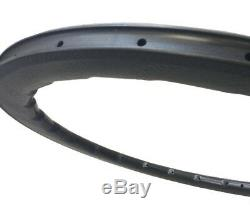 High TG carbon fiber Golf dimple rim 58mm depth carbon dimple rim road bike rim