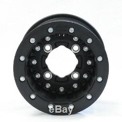 Hiper Cf1 Carbon Fiber Beadlock 10 Front & Rear Rims Yfz450 Raptor 700 Banshe