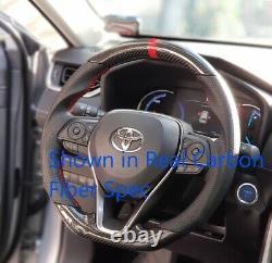 Hydro Carbon Fiber Steering Wheel for 2019-2021 Toyota RAV4 / Corolla Hatchback