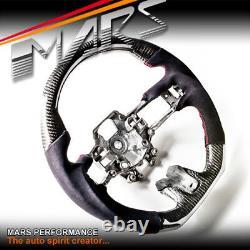 MARS Carbon Fibre Alcantara Steering Wheel for Ford Mustang FM V8 GT Shelby 2.3T