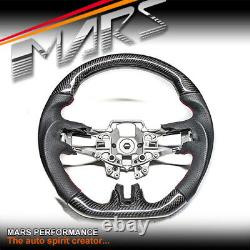 MARS Carbon Fibre + Leather Steering Wheel for Ford Mustang FM V8 GT Shelby 2.3T