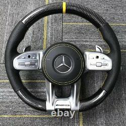 Mercedes Benz AMG Custom Carbon Fiber Steering Wheel 2019-2020