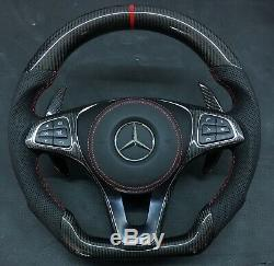 Mercedes Benz amg carbon fiber steering wheel c63 E63 CLS63 CLA45 GLC43 And More