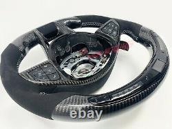 Mercedes C63, AMG GTS GT LED Carbon Fibre Steering Wheel Customisable Options