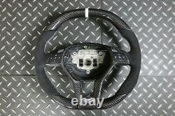 Mercedes W204 W212 W218 W207 W172 SLK Steering Wheel Alcantara Carbon Fiber 2