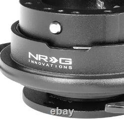 NRG SRK-650CF GEN 3.0 STEERING WHEEL QUICK RELEASE ADAPTER WithCARBON FIBER HANDLE