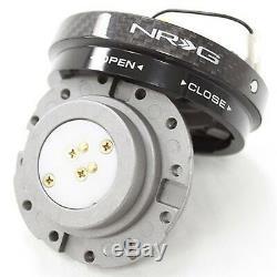 NRG Steering Wheel Quick Release Hub Short (Thin Version Carbon Fiber)