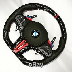 New BMW 2019 M Performance all G series 12K Forged Carbon Fiber Steering Wheel