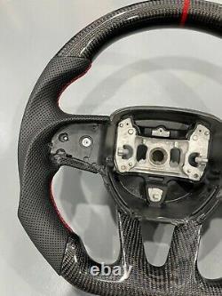 New Dodge Challenger/charger/HELLCAT SRT carbon fiber steering wheel 2018+
