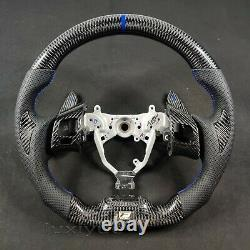 New carbon fiber custom steering wheel + paddle shifter for Lexus IS 250 300 ISF