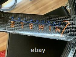 Nimble Crosswind Tri Spoke 3 Wheel Set Rims Hubs 650c