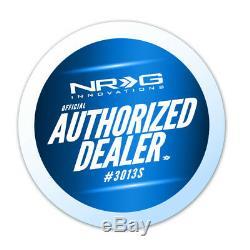 Nrg Steering Wheel Gen 2.5 Quick Release Carbon Fiber Body Ring Srk-250cf Flare