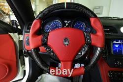 OEM GENUINE Maserati Granturismo MC STEERING WHEEL SWITCH BUTTON CARBON FIBER