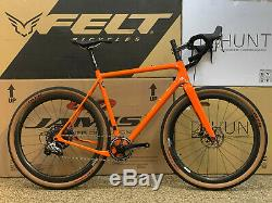 OPEN U. P. Demo Rival 1X 57cm with Reynolds Carbon Wheels