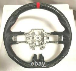 Performance Leather/Carbon Fiber Steering Wheel for 2015-17 Ford Mustang GT NEW